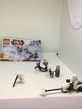 LEGO Star Wars 8084 Hoth battle, rebuilt. See pictures for missing pieces