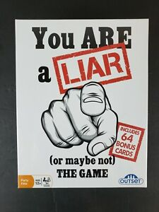 You Are A Liar Or Maybe Not - Fact Or Fiction Party Game New Sealed