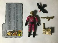 GI JOE ARAH Voltar 1988 V.1 (Iron Grenadiers) Complete With Filecard