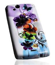 Design 4 Silikon TPU Cover Handy Hülle Case für Sony Ericsson Xperia Arc - Arc S