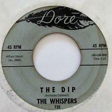 Northern Soul 45 WHISPERS The Dip/Weirdo Dore HEAR Rare