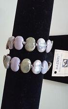 Kazuri Hand-Painted Fair Trade Ceramic Memory Wire brookstone Bracelet Kenya