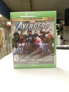 Marvel Avengers - Deluxe Edition (XBOX One, 2020) Brand New/Sealed