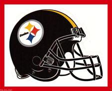 PITTSBURGH STEELERS FOOTBALL NFL HELMET DECAL STICKER TEAM LOGO~BOGO 25% OFF