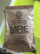 Raciones de combate MRE