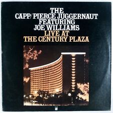 THE CAPP / PIERCE JUGGERNAUT w/ JOE WILLIAMS: Live Jazz Concord LP NM-