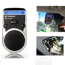 Solar Powered Speakerphone Wireless Bluetooth Handsfree LCD display Car Kit