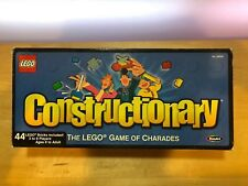 Lego Constructionary The Lego Game of Charades RoseArt #08539 IOB Opened AS IS