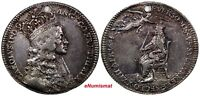 GREAT BRITAIN Charles II (1660-1685) Silver Coronation Medal 1661 Eimer 221