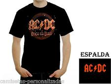 CAMISETA ACDC AC/DC ROCK OR BUST  T-SHIRT ROCK HEAVY METAL