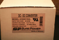 Eaton / Sure Power 41020C10UL DC-DC Converter 48 to 12 20 amp - New