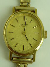 Longines Gold Plated Mechanical (Hand-winding) Wristwatches