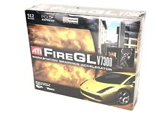 ATI FireGL V7300 512MB PCI-Express Graphics Video Card Brand New, SEALED!!