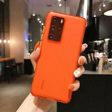 Lens Protect Matte Silicone Soft Case Cover For Huawei P40 P30 Honor 20 Mate 30