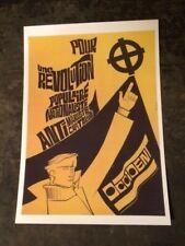 AFFICHE POLITIQUE/EXTRÊME-DROITE/OCCIDENT/POUR UNE REVOLUTION NATIONALISTE