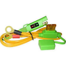 Save A Battery 2120-S 12 Volt 2' SMART Terminal Cable with LED Voltage Meter