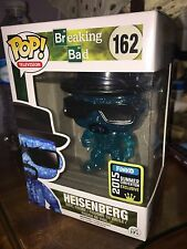 Blue Crystal Sparkle Heisenberg SDCC 2015 Exclusive Funko POP Breaking Bad White