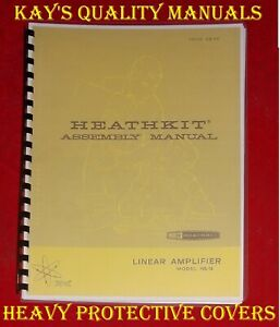 HIGH QUALITY ~ HEATHKIT HA-14 LINEAR ASSEMBLY MANUAL 😊C-MY OTHER MANUALS😊