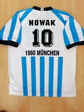 Novak #10 1860 München Vintage Fußball Trikot 2xl 1995 1996 nur Trikot
