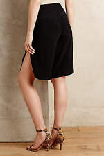 NWT Anthropologie Breezy Bermuda Black Shorts Size XS