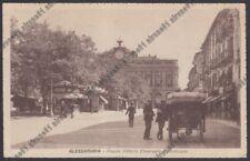 ALESSANDRIA CITTÀ 155 CARROZZA Cartolina viaggiata 1931