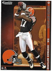 BRAYLON EDWARDS FATHEAD TRADEABLES CLEVELAND BROWNS MICHIGAN WOLVERINES 2009 111