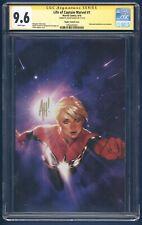 Life Of Captain Marvel 1 ~ CGC 9.6 ~Hughes Virgin Variant ~Signed by Adam Hughes