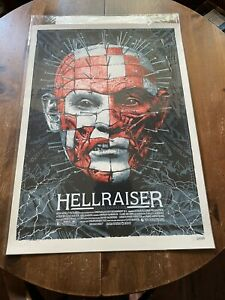 Elvisdead Hellraiser Movie Poster Print Mondo Clive Barker