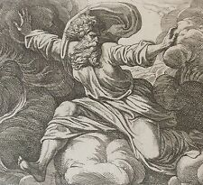 Nicolas CHAPRON ou CHAPERON d'après RAPHAEL Dieu création monde Jour Nuit XVIII