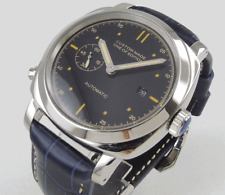 PARNIS 44MM Black Dial Stainless Steel Automatic Movement Men's Homage Watch