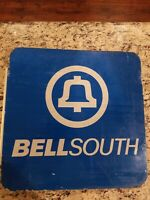 RARE 🔔Bell System BellSouth Southern Bell Pay Phone Booth Reflective Sign