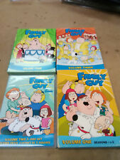 COLLECTION of Family Guy DVD's Volume 1,2,3 and 4