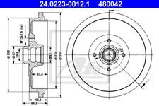 2x Bremstrommel für Bremsanlage Hinterachse ATE 24.0223-0012.1