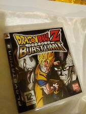 Dragonball Z DBZ Dragon Ball Burst Limit PS3 UK PAL Sony PlayStation 3 Blast