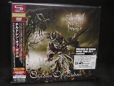 CHILDREN OF BODOM Relentless Reckless Forever + 3 JAPAN SHM CD + DVD Sinergy