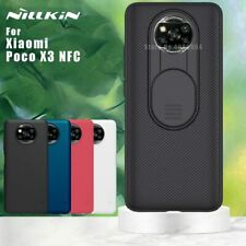 NILLKIN Camera Protection Case for Xiaomi Poco X3 NFC Matte Frosted Shield Cover