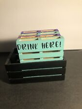 New ListingCoasters/Coaster Sets/Coaster Holders/Wood Coasters