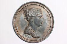 Medalla de bronce de plomo Josephine Imp. et reine C.1805 napoleónicas medalla Andrieu. F