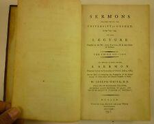 1785 JOSEPH WHITE Oxford SERMONS Mahomet ANTI-ISLAM POLEMICS Koran ORIENTALISM