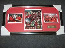 Steven Gerrard Liverpool Champions League Winners 2005 Signed Montage  AFTAL