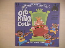 OLD KING COLE Disneyland Records 45 RPM 1962