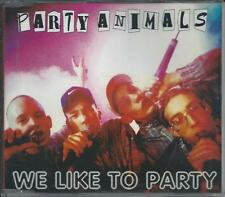 PARTY ANIMALS - we like to party CDM 5TR Gabber Happy Hardcore 1997 HOLLAND
