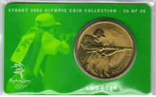 2000 $5 RAM UNC Coin -Sydney Olympics - NO OUTER COVER -26 of  28 - Shooting