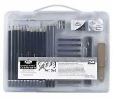 Royal Langnickel Sketching Set - Sm Clear Case         (RSET-ART3105)