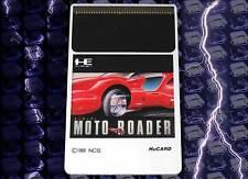 MOTO ROADER GIOCO USATO IN BUONO STATO PC ENGINE HUCARD EDIZIONE GIAPPONESE JM