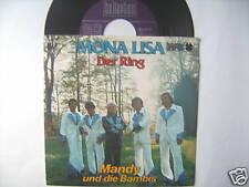 """7"""" MANDY & DIE BAMBIS MONA LISA DER RING AUSTRIA"""