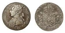 LOUIS XVI (1774-1793) 1/5 d'écu 1788 La Rochelle