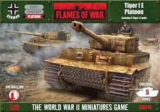 Flames of War BNIB - German Tiger Platoon, 5 Tiger Tanks