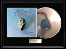 The Eagles Greatest Hits Album Lp White Gold Silver Platinum Tone Record Lp