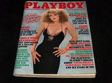 Playboy Magazine Dec 1981 Bernadette Peters Housse Henry Fonda Patricia